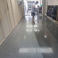Polishing of older concrete floors. Can it be done?